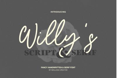 Willys Script Serif Font