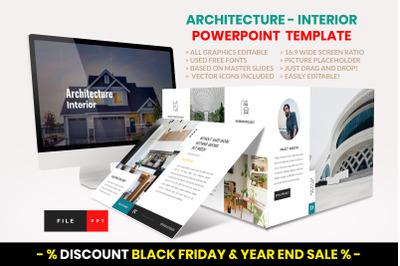 Architecture - Interior PowerPoint Template