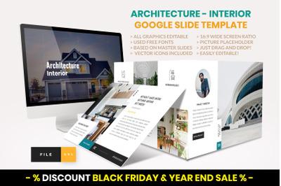 Architecture - Interior Google Slide  Template