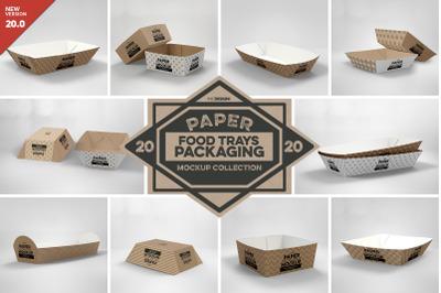 VOL. 20 Paper Box Packaging Mockups