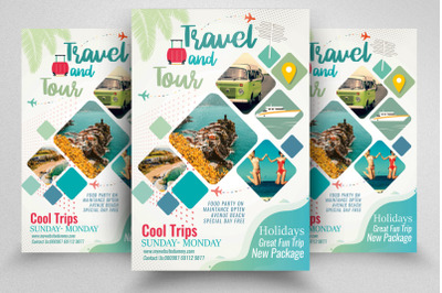 Tour Travel Agency Flyer/Poster