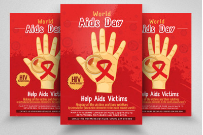 World Aids Day Flyer/Poster Template