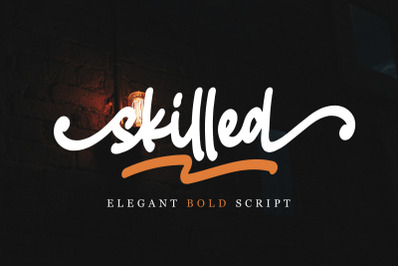 Skilled | Elegant Fonts