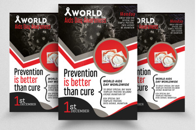 World AIDS Day Flyer Template