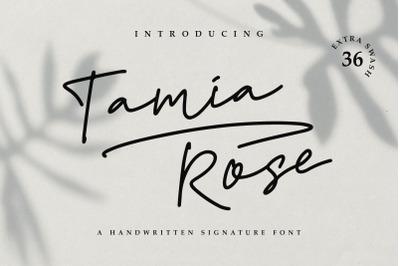 Tamia Rose Signature - Extra Swashes