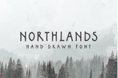 Northlands | Hand Drawn Font