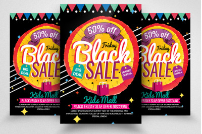 Black Friday Sale Flyer/Poster
