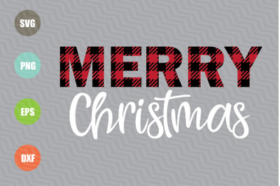 Merry Christmas SVG Design