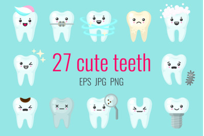 27 cute teeth