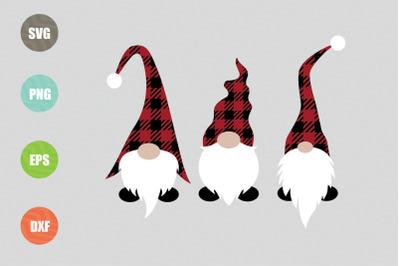 Christmas Gnomes SVG Design