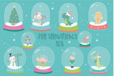 Fun Snowglobes