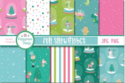 Fun Snowglobes paper