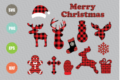 Christmas Ornaments SVG Designs