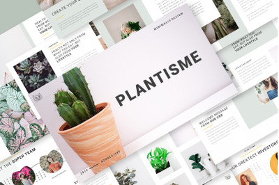 Plantisme PowerPoint Template