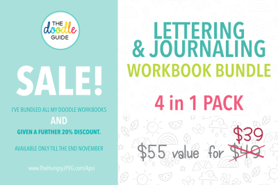 SALE - Lettering/ Journaling Bundle