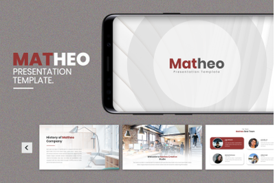 Matheo  Creative Business Google Slide Template