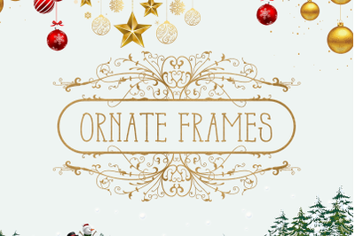 Mailbox Decal | Ornate Frames SVG Pack