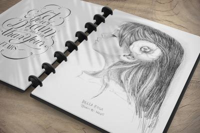Sketchbook Mockup v3