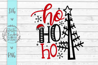 Ho Ho Ho SVG and PNG Digital Cut File