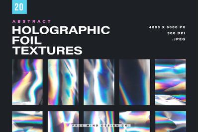 HOLOGRAPHIC FOIL TEXTURES