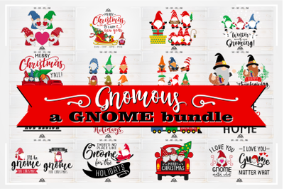 Gnomous a GNOME Bundle Svg Design