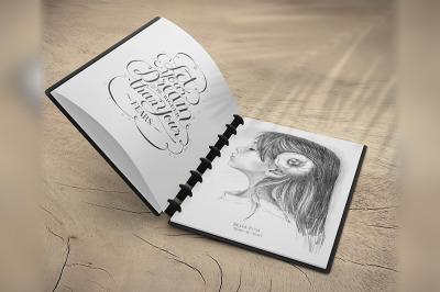 Sketchbook Mockup v6
