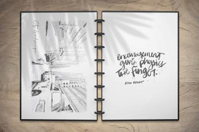 Sketchbook Mockup v5