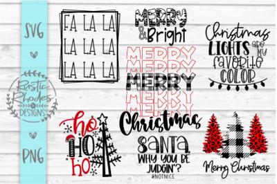 Christmas SVG and PNG Bundle