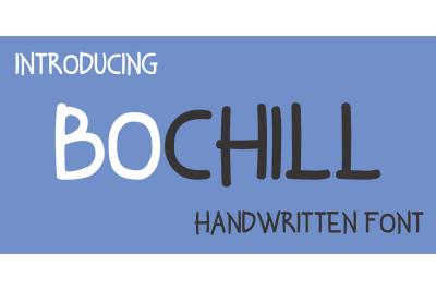 Bochill Handwritten Font