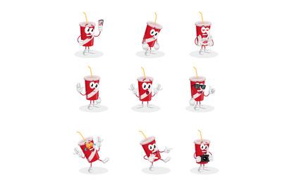 Soft drink mascot