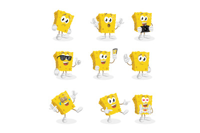 Sponge mascot