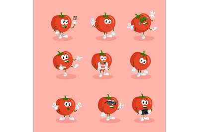Tomatoes mascot