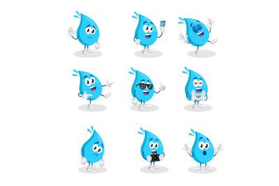 Water mascot