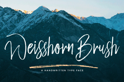 Weisshorn Brush