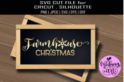 Farmhouse christmas sign svg, christmas sign svg