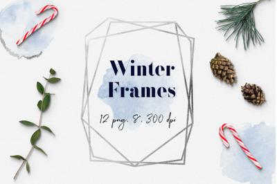 Frozen Geometric Frames