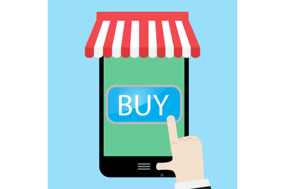 Buy using a smartphone