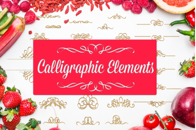 Calligraphic Elements & Text Decorations SVG Pack