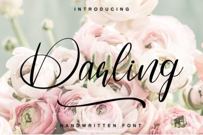 Darling - Handwritten font