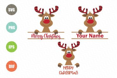 Christmas Reindeer SVG Designs