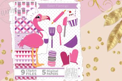 Pink Baker Flamingo