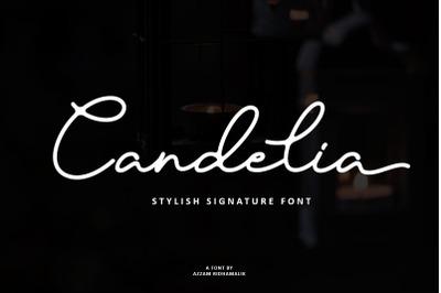 Candelia - Stylish Signature Font