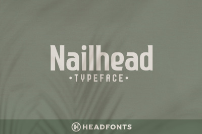 Nailhead Modern Wedding Typeface
