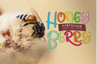 Honey Berry - Playful Font