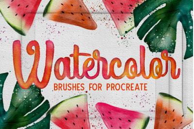 Procreate Watercolor Brushes
