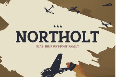 Northolt - A Slab Serif Font Family