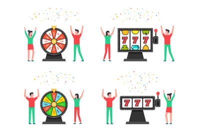 Casino lottery concept