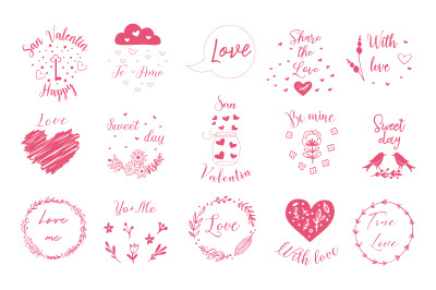 Logos for Valentine s  Day