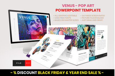 Pop Art - Creative PowerPoint Template