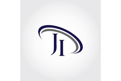 Monogram JI Logo Design